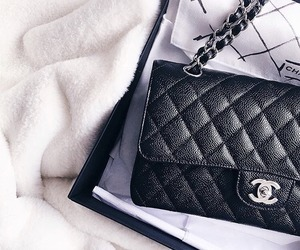 fashion, glam, and chanel purse image
