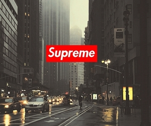 supreme and wallpaper image