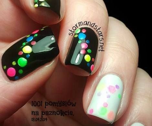 beautiful, colors, and manicure image