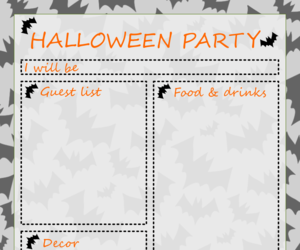 Halloween, party, and halloween party image
