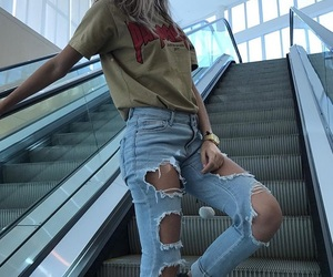 fashion, jeans, and tumblr image