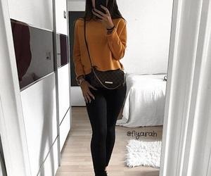 bag, basket, and Louis Vuitton image