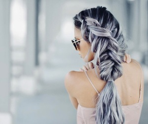 hair, beautiful, and fashion image