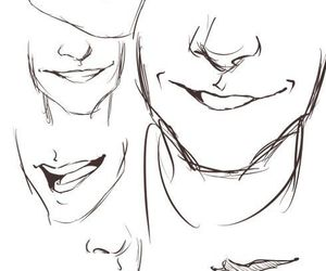 drawing, smile, and guy image