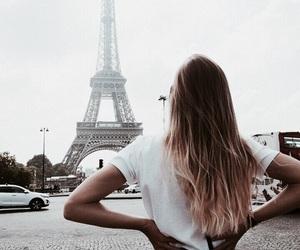 paris, hair, and girl image