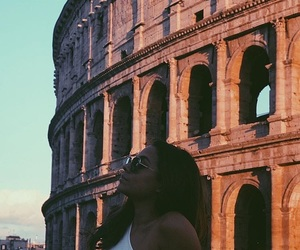 colosseum, rome, and summer image