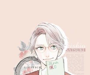 background, manga, and manga boy image