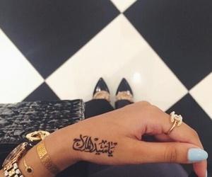 tattoo, fashion, and nails image