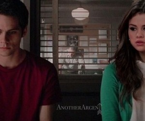 teen wolf, selena gomez, and dylan o'brien image