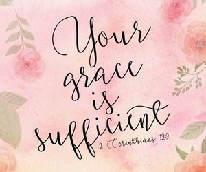god, bible, and grace image