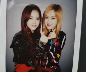 kim jisoo, rose, and blackpink image