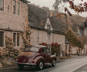 vintage, autumn, and theme image
