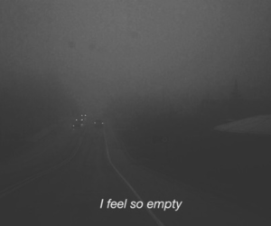 empty, sad, and grunge image
