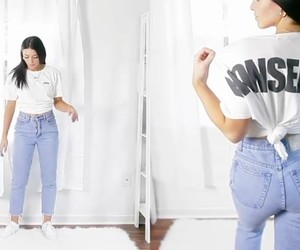 chill, fashion, and girl image