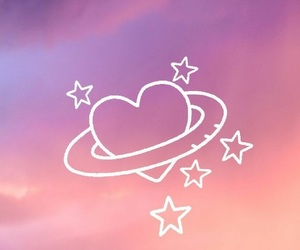 wallpaper, heart, and pink image