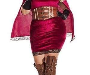 halloween costume, sexy, and plus size image
