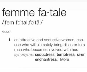 fatale, femme, and girls image