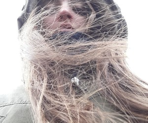 girl, hair, and season image