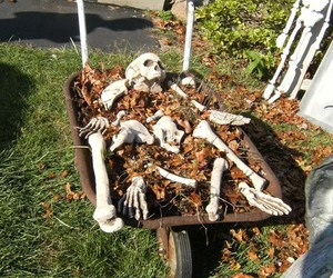 inspiration, outdoor halloween ideas, and halloween decorating tips image