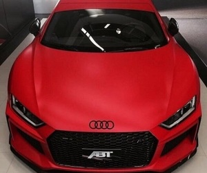 red, car, and audi image