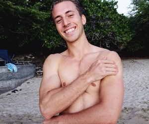 beach babe, body, and hot guy image