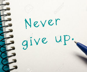 article, articel, and never give up image