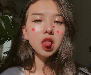 ulzzang, asian, and girl image
