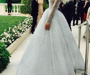 dress, dresses, and glitter image