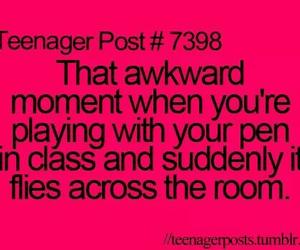 teenager post, awkward, and school image