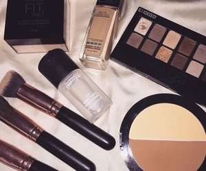 beauty, Maybelline, and fit me foundation image