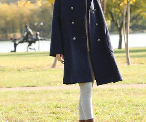 etsy, wool coat, and wool overcoat image