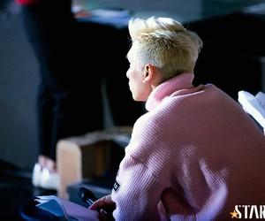 blonde, han sanghyuk, and hyuk image
