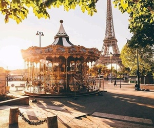 carousel, spring, and france image