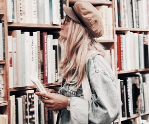 books, fashion, and style image