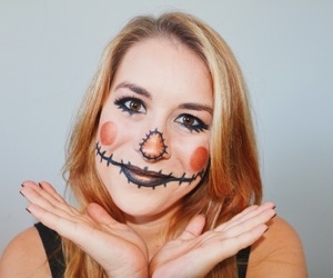 article and halloween makeup image