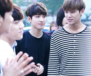 mingyu, wonwoo, and Seventeen image