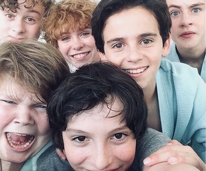 finn wolfhard, it, and jaeden lieberher image