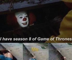 game of thrones, funny, and it image