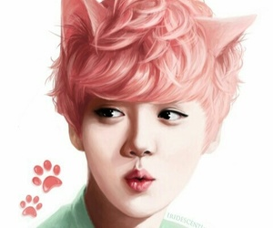 luhan, exo, and fanart image