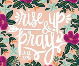 god, bible, and prayer image