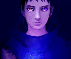 obito, uchiha obito, and sharingan image