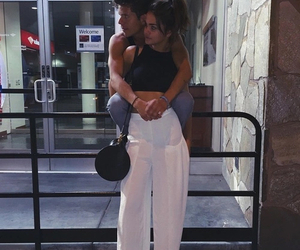 couple, maia mitchell, and rudy mancuso image