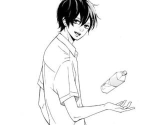 boy, manga, and kimi wa kawaii onnanoko image