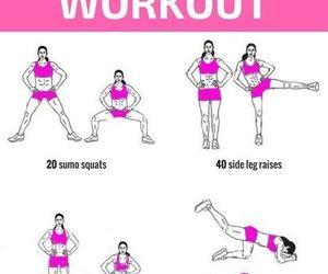 fitness and leg routine image
