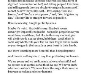 feelings, hurt, and it's image