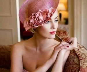 glamour, hat, and vintage image