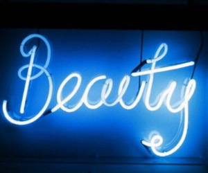 beauty, neon, and light image