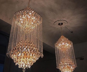 chandelier and lights image