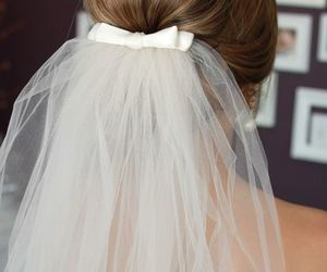 wedding, hair, and nice image