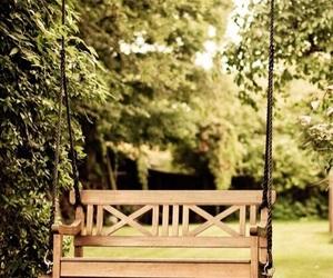 backyard, beauty, and scenery image